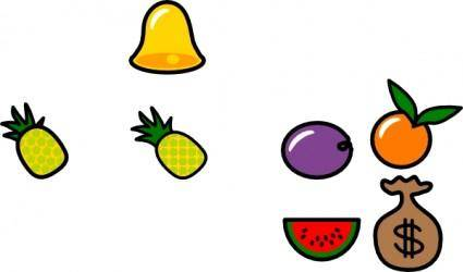 Pineapple Icon clip art