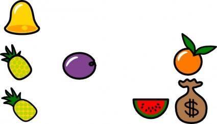 Plum Icon clip art