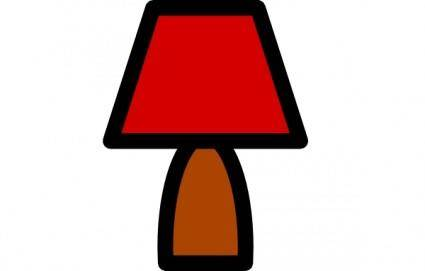 Lamp Icon clip art