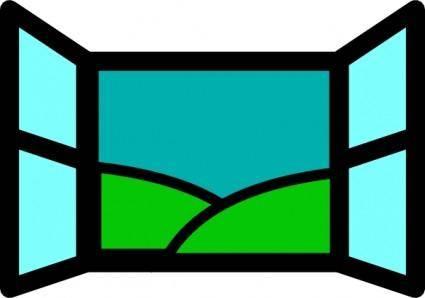 Window Icon clip art