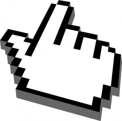 Hand Cursor clip art