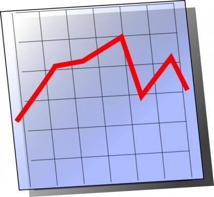 Graph Chart Icon Symbol clip art