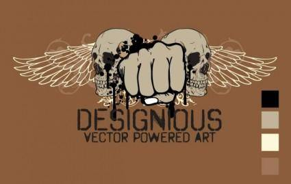 free vector T-shirt design 3
