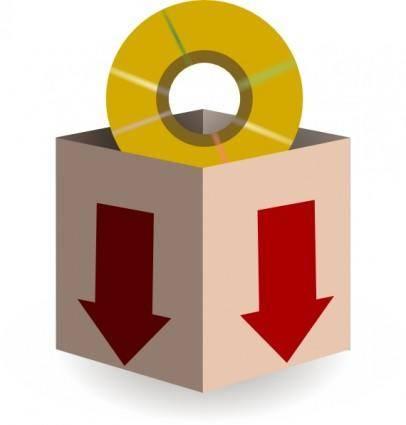 free vector Download Icon clip art