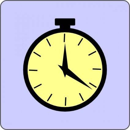 free vector Pocket Watch Icon clip art