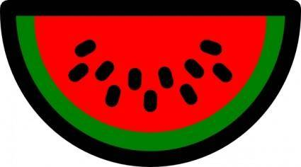Watermelon Icon clip art