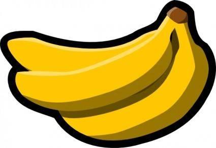 free vector Bananas Icon clip art