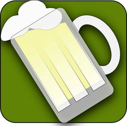 Farmeral Beer Im Icon clip art