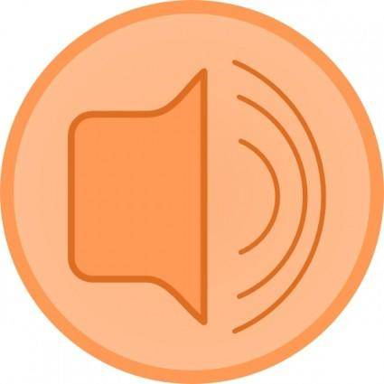 Audio Speaker clip art