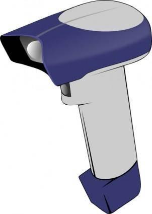 Barcode Handheld Scanner  clip art
