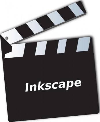 Ben Movie Clapper clip art