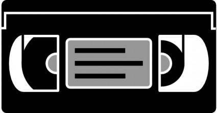 Aj Simple Vhs Tape clip art