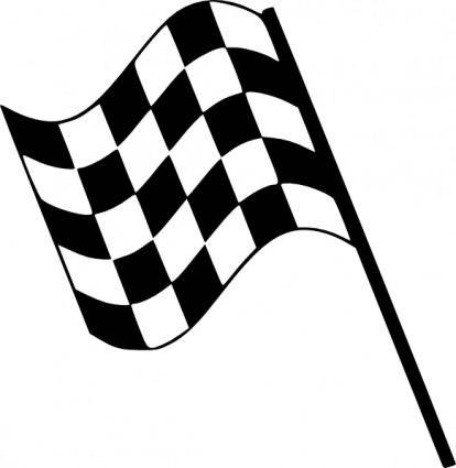 free vector Checkered Flag clip art