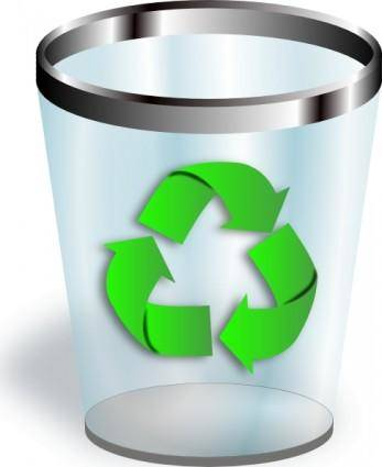 free vector Recycler clip art