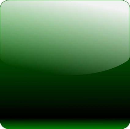 Green Square Icon Gradient clip art