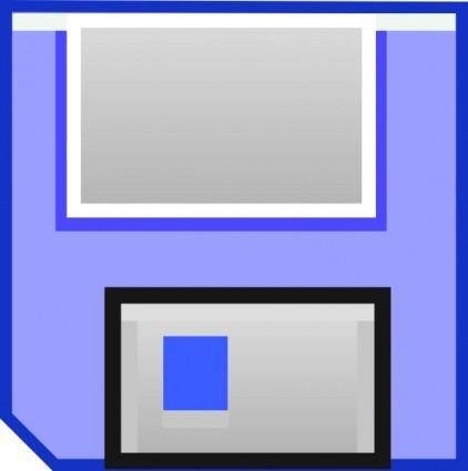 Floppy Disk Save clip art