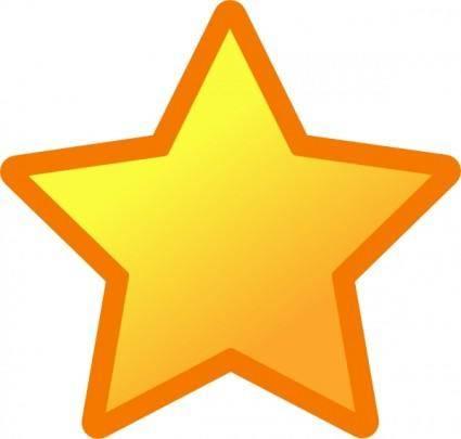 Icon Star clip art