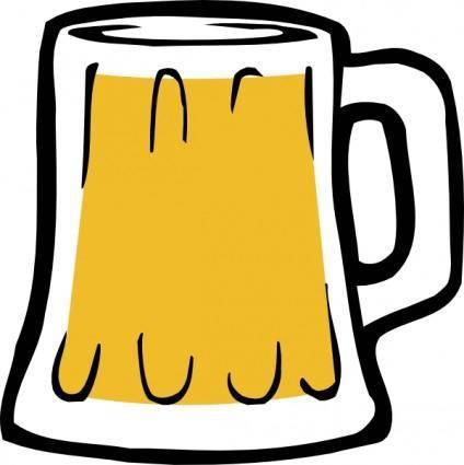free vector Fattymattybrewing Fatty Matty Brewing Beer Mug Icon clip art