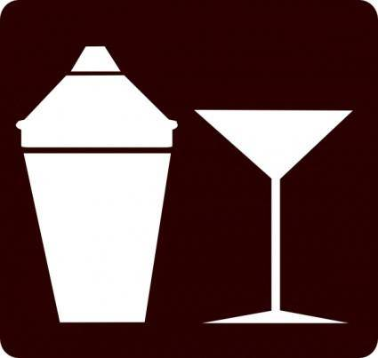 free vector Cocktail Icon Martini Icon clip art