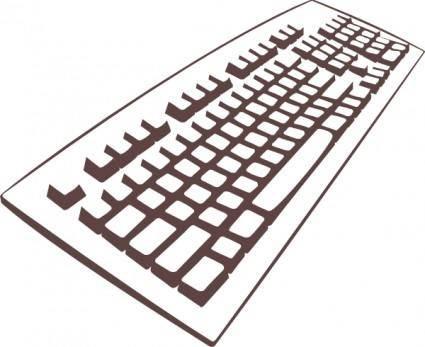 Keyboard clip art