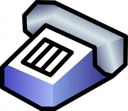 Simple Telephone clip art