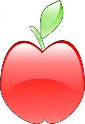 Crystal Apple clip art