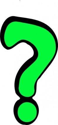 free vector Question Mark clip art
