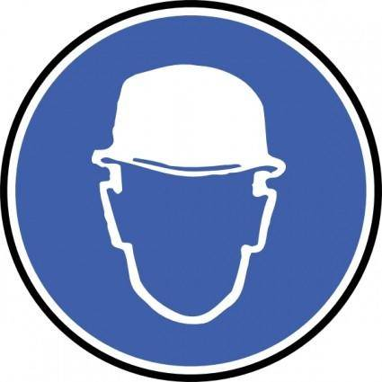 Wear Helmet clip art