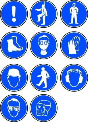 Protection Symbols clip art