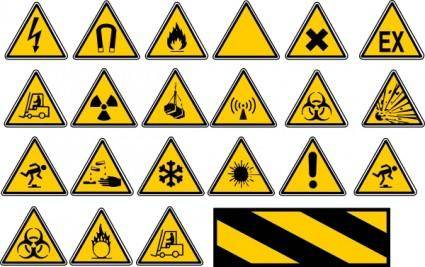 free vector Road Traffic Signs clip art