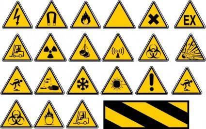 free vector Road Traffic Signs clip art
