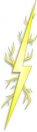 free vector Electric Spark clip art