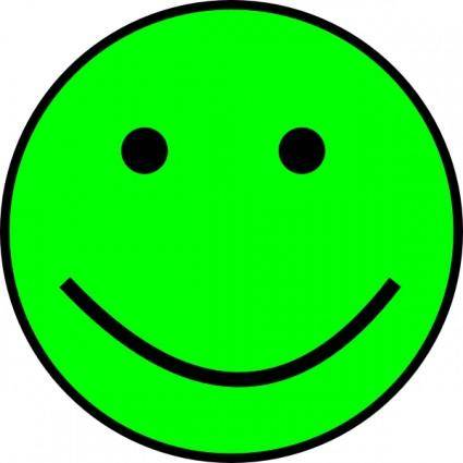 free vector Happy Smiling Face clip art