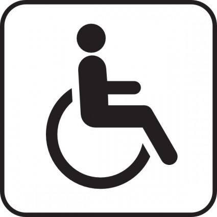 free vector Wheel Chair clip art