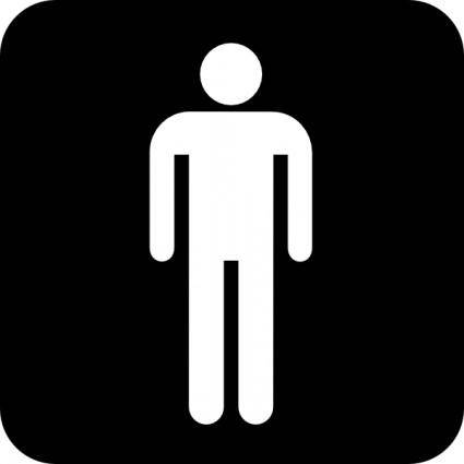Mens Room clip art