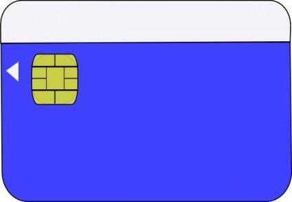 Smartcard clip art