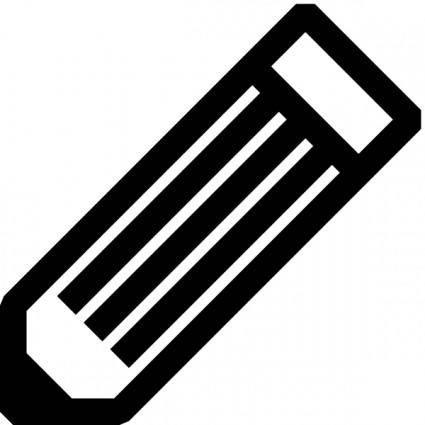 free vector Black And White Pencil clip art