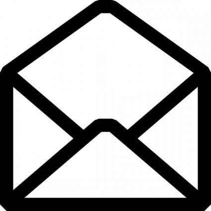 Open Envelope clip art