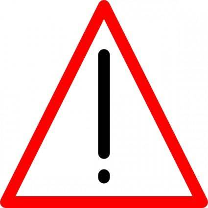Warning Sign clip art