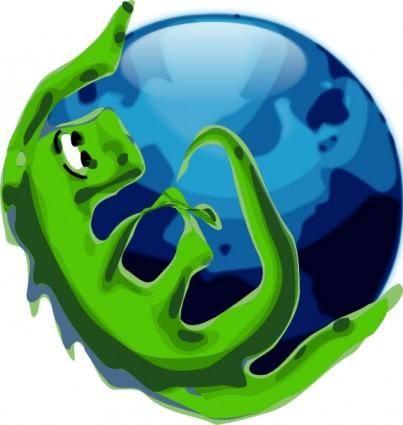 free vector Alternate Mozilla Browser Icon clip art