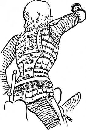 Statue Of St George clip art