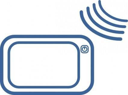 Gps Navigation Signal Icon clip art