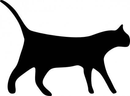 Cat Icons clip art