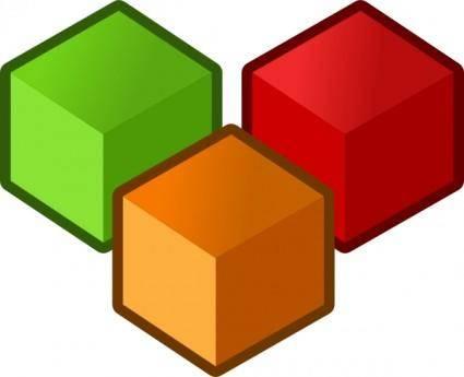 Cubes clip art