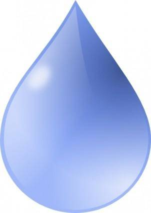 free vector Water Drop clip art