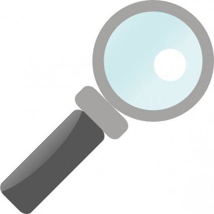 Jilagan Magnifying Glass clip art