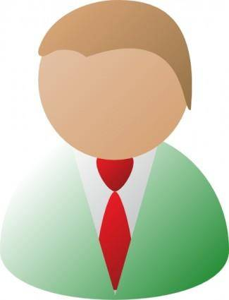 free vector Msewtz Business Person clip art