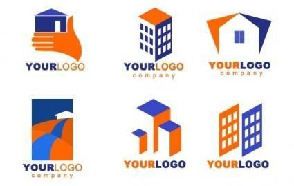 free vector Real Estate logos