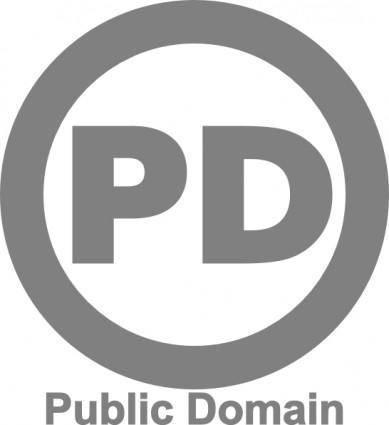 free vector Public Domain Icon clip art