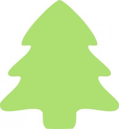 Christmas Tree Icon clip art